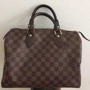Louis Vuitton Speedy Damier 30